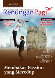 Renungan Pagi Magazine Cover March 2019