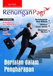 Cover Majalah Renungan Pagi April 2019