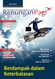 Cover Majalah Renungan Pagi Mei 2019