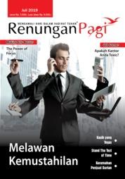 Cover Majalah Renungan Pagi Juli 2019