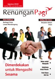 Renungan Pagi Magazine Cover August 2019