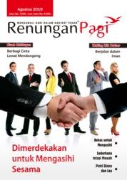 Cover Majalah Renungan Pagi Agustus 2019