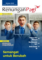Renungan Pagi Magazine Cover October 2019