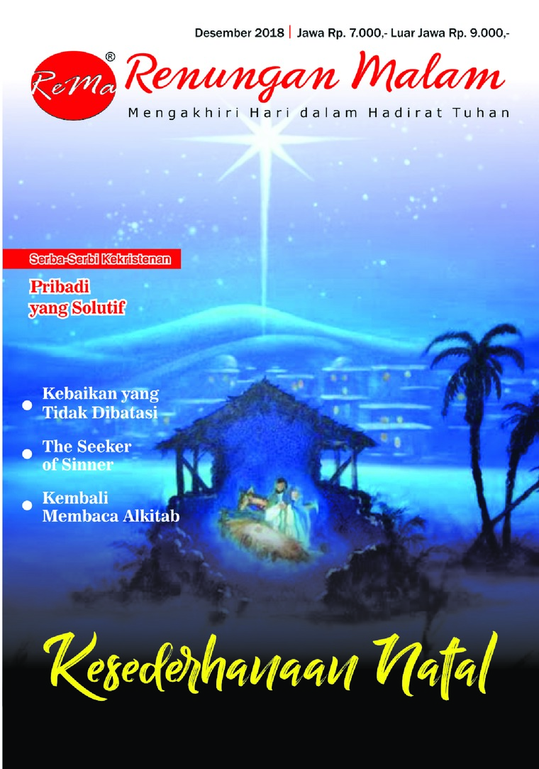 Renungan Malam Digital Magazine December 2018