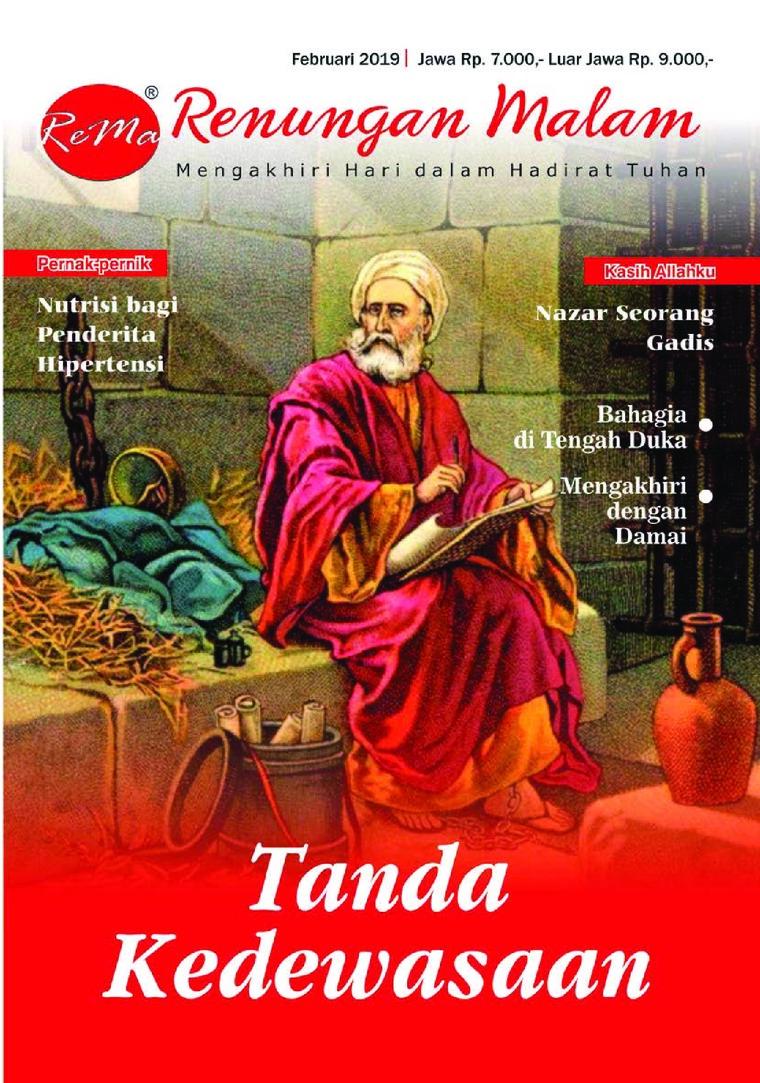 Majalah Digital Renungan Malam Februari 2019