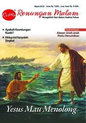 Cover Majalah Renungan Malam Maret 2018