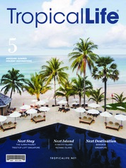 Tropical Life Magazine Cover May-August 2018