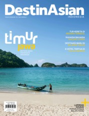 Cover Majalah DestinAsian Indonesia Juli-September 2018