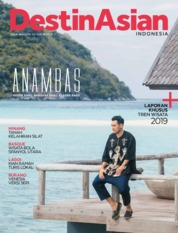 Cover Majalah DestinAsian Indonesia ED 01 Januari 2019