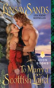 To Marry a Scottish Laird by Lynsay Sands Cover