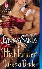 The Highlander Takes a Bride by Lynsay Sands Cover