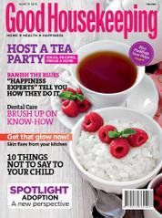 Good Housekeeping India Magazine Cover