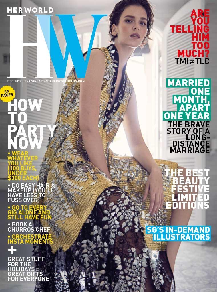 Majalah Digital her world Singapore Desember 2017