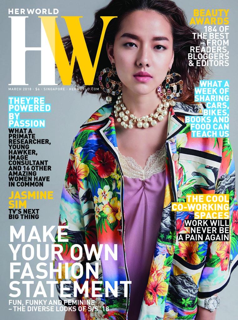 Her world Singapore Digital Magazine March 2018