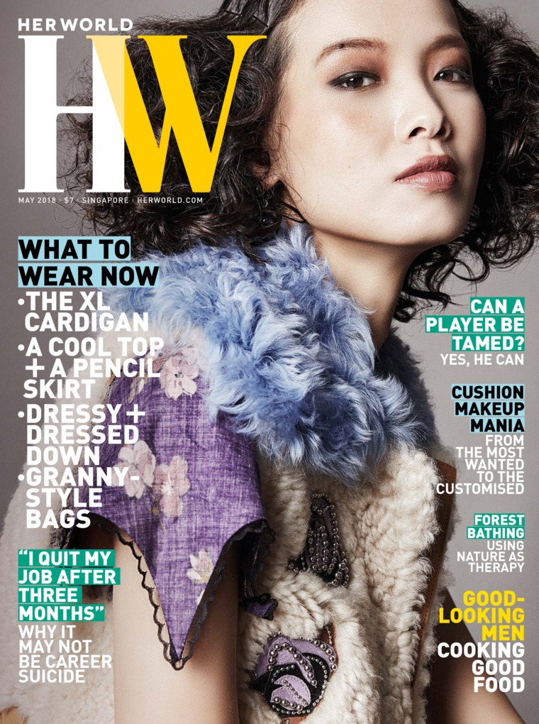 Her world Singapore Digital Magazine May 2018