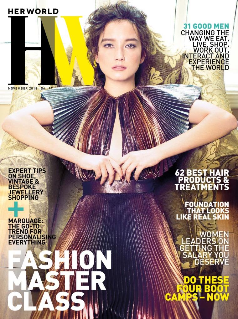 Her world Singapore Digital Magazine November 2018