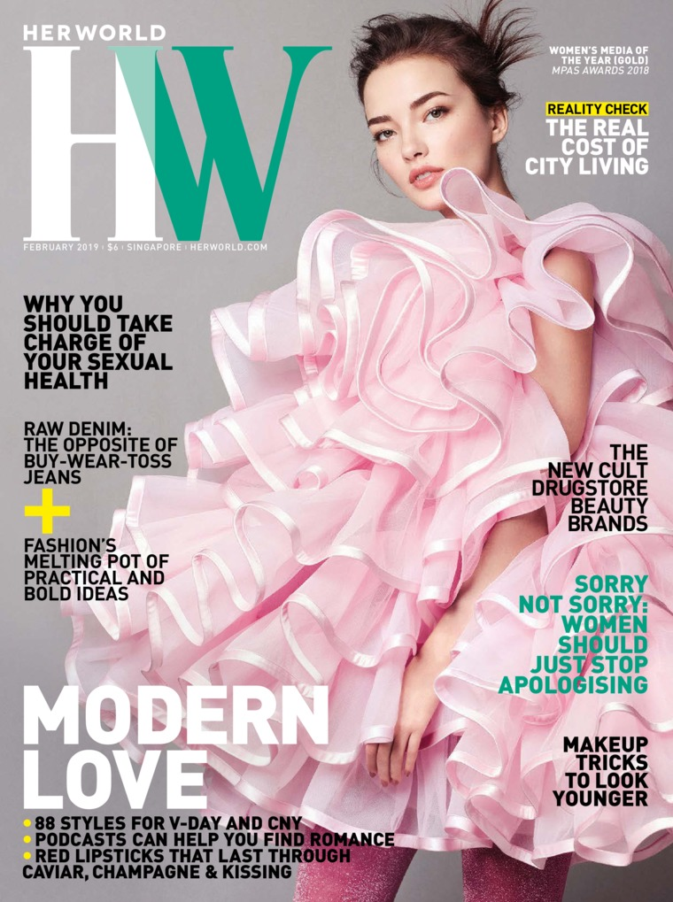 Majalah Digital her world Singapore Februari 2019