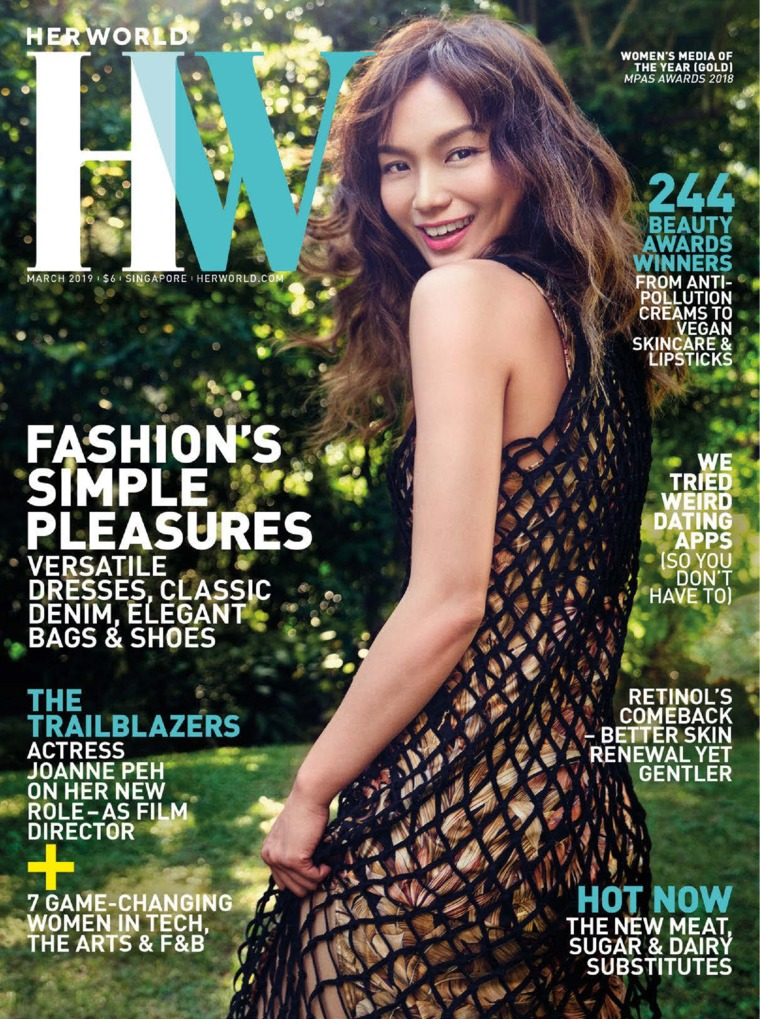 Her world Singapore Digital Magazine March 2019