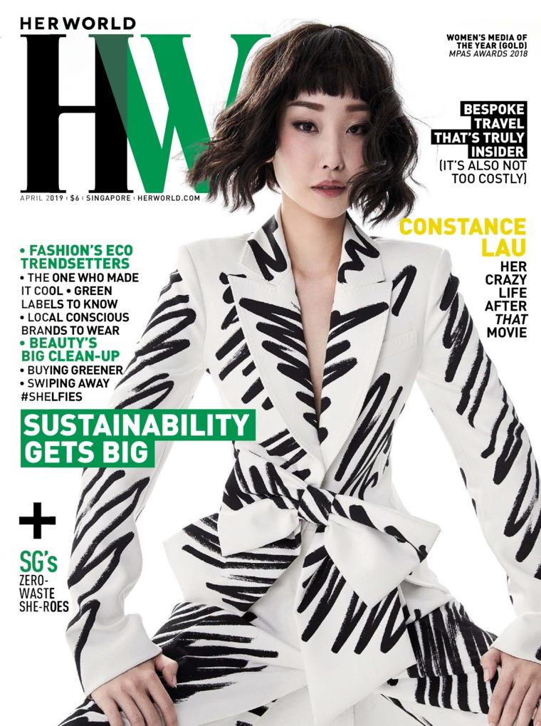 Her world Singapore Digital Magazine April 2019