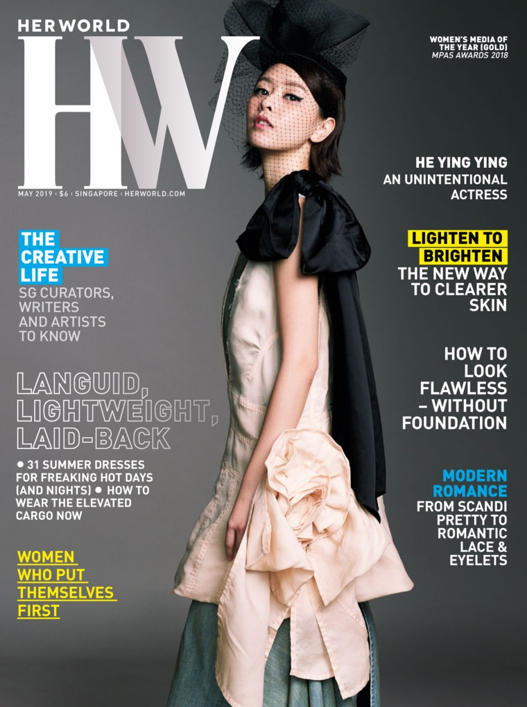 Majalah Digital her world Singapore Mei 2019