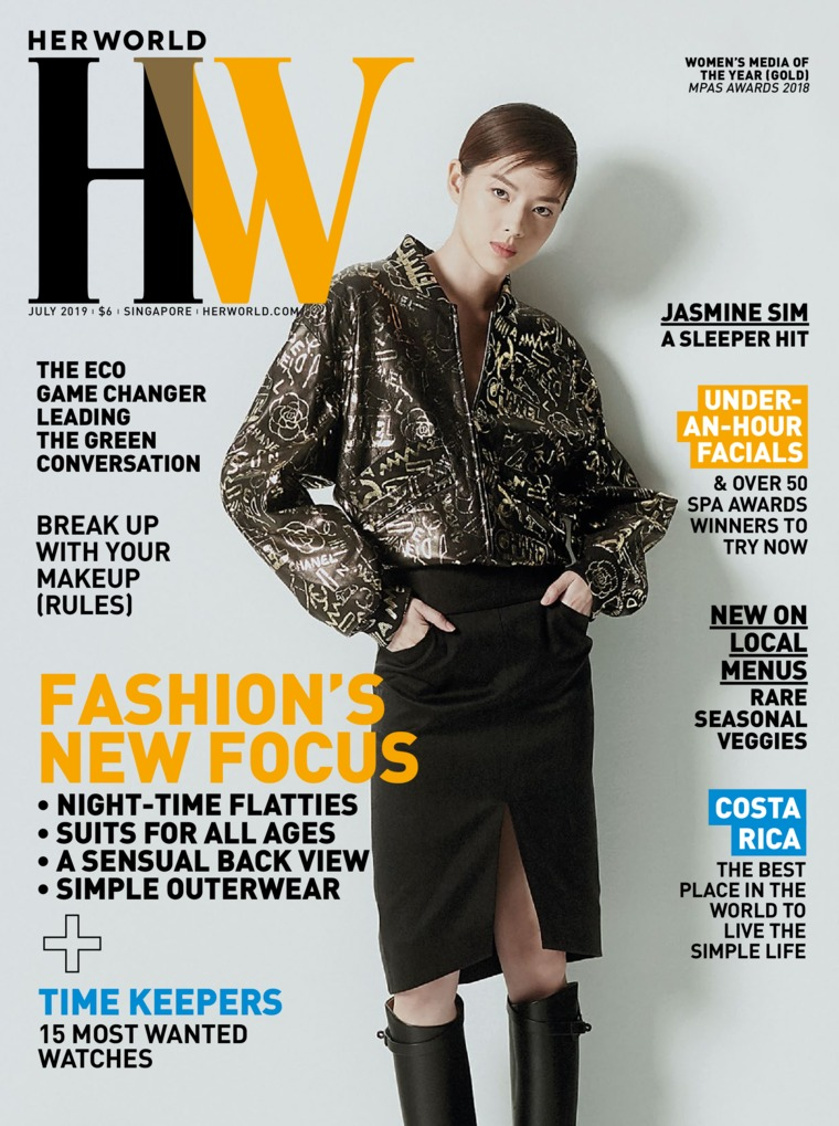 Her world Singapore Digital Magazine July 2019