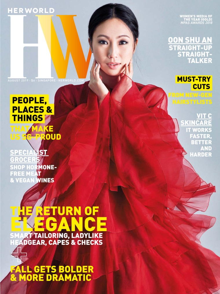 Her world Singapore Digital Magazine August 2019