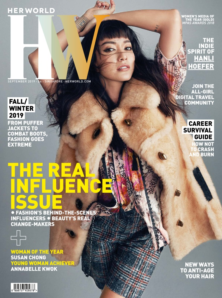 Her world Singapore Digital Magazine September 2019