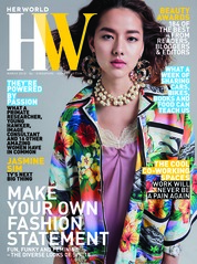 Cover Majalah her world Singapore Maret 2018