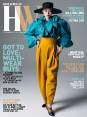 Cover Majalah her world Singapore September 2018