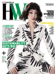 Cover Majalah her world Singapore April 2019