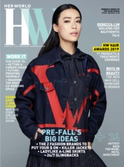 Cover Majalah her world Singapore