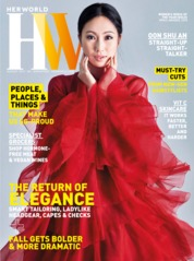 Her world Singapore Magazine Cover August 2019