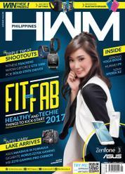 Cover Majalah HWM Philippines Januari 2017