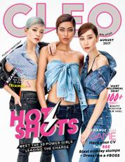 Cover Majalah CLEO Malaysia Agustus 2017