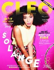 Cover Majalah CLEO Malaysia Januari 2018