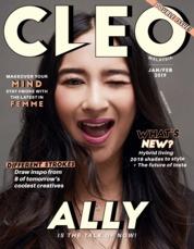Cover Majalah CLEO Malaysia Januari 2019