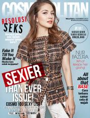 Cover Majalah COSMOPOLITAN Malaysia Desember 2017