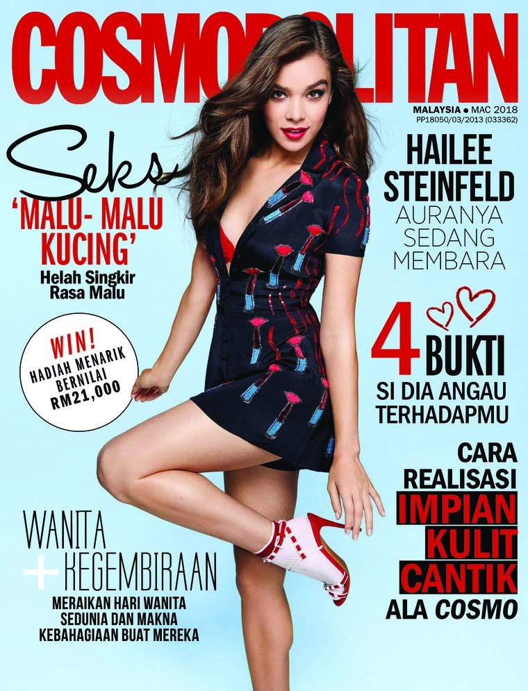 Majalah Digital COSMOPOLITAN Malaysia Maret 2018