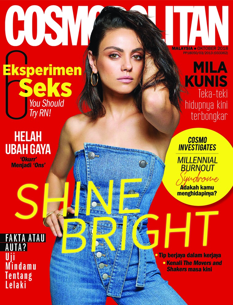 Majalah Digital COSMOPOLITAN Malaysia Oktober 2018