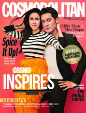 COSMOPOLITAN Malaysia Magazine Cover February 2018