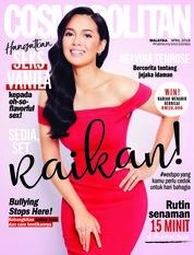 COSMOPOLITAN Malaysia Magazine Cover April 2018
