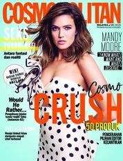 COSMOPOLITAN Malaysia Magazine Cover May 2018