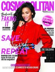 Cover Majalah COSMOPOLITAN Malaysia Juli 2018
