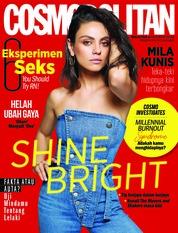 COSMOPOLITAN Malaysia Magazine Cover October 2018
