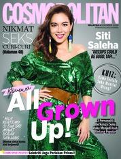 Cover Majalah COSMOPOLITAN Malaysia Desember 2018