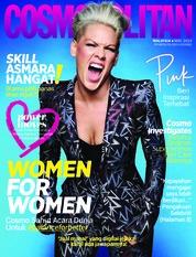 Cover Majalah COSMOPOLITAN Malaysia Maret 2019