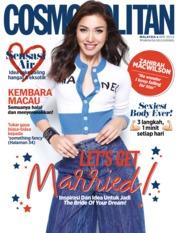 Cover Majalah COSMOPOLITAN Malaysia April 2019