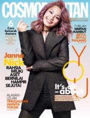 Cover Majalah COSMOPOLITAN Malaysia Agustus 2019