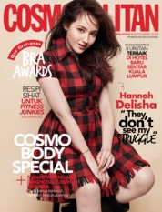 Cover Majalah COSMOPOLITAN Malaysia September 2019