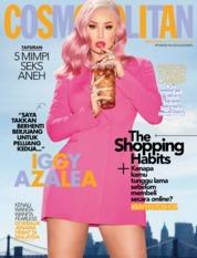Cover Majalah COSMOPOLITAN Malaysia Oktober 2019
